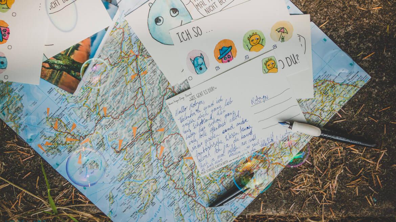 WESENsART – Produkt: Urlaubspostkarten (Ich so und du & kannst dich ja mal melden, ..)