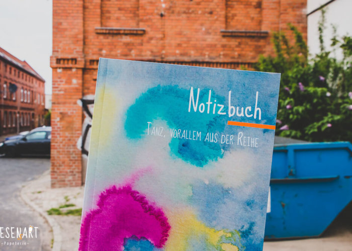 Notizbuch »Tanz, vorallem aus der Reihe«