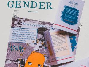 WESENsART // Zine Wesen erklären: Gender