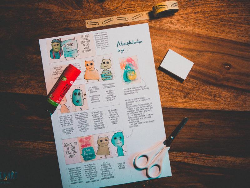 Jeden Tag eine kleine Freude – Adventskalender to go