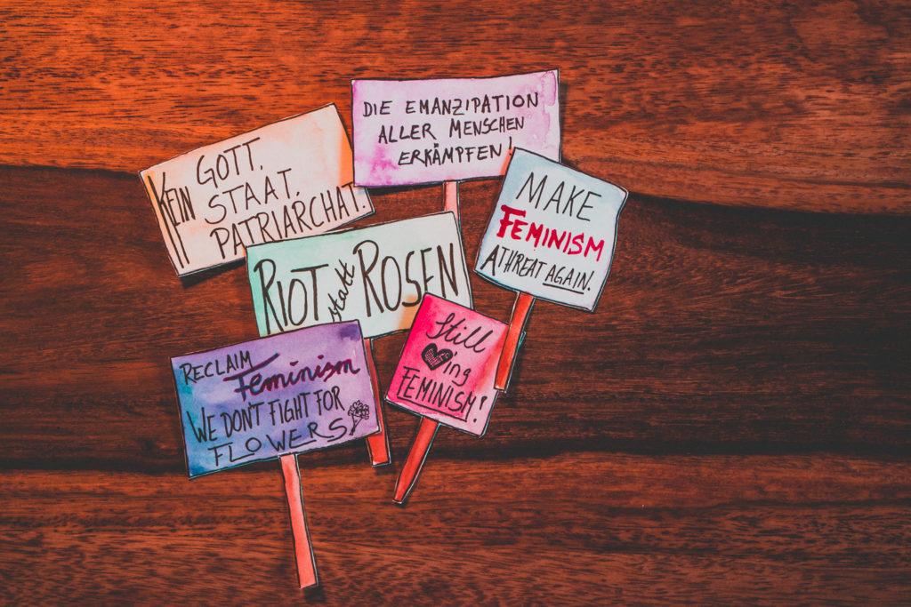 Transparente Wesensart Frauenkampftag
