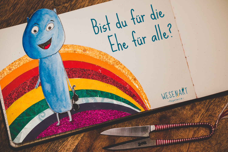 WESENsART – Alex fragt: »Bist du für die Ehe für alle?«