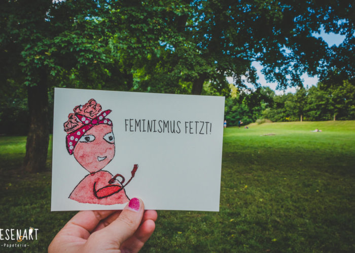 »Feminismus fetzt!«