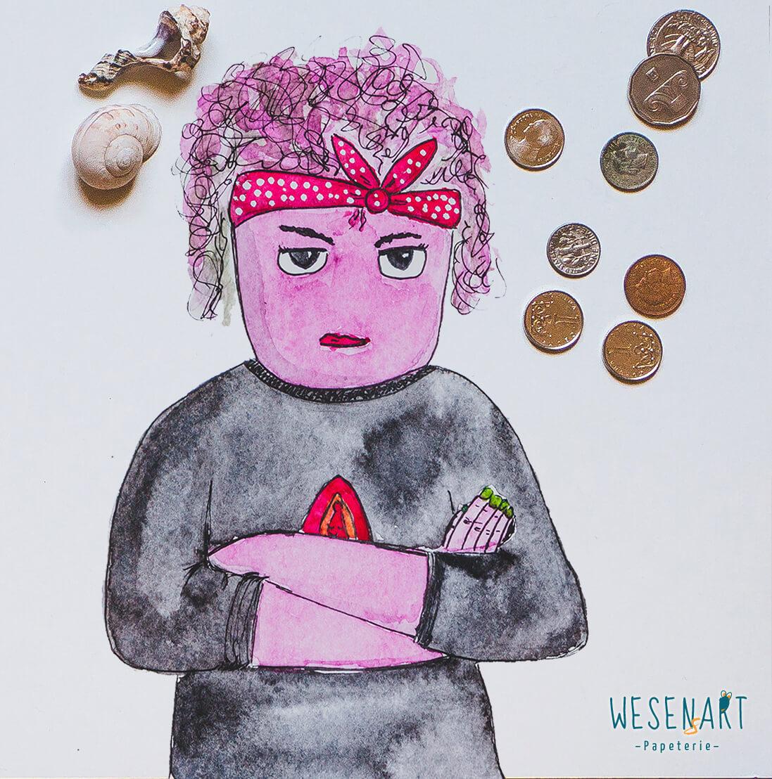 Feminismus – es gibt noch viel zu tun! Das stimmt Yannie manchmal wütend.