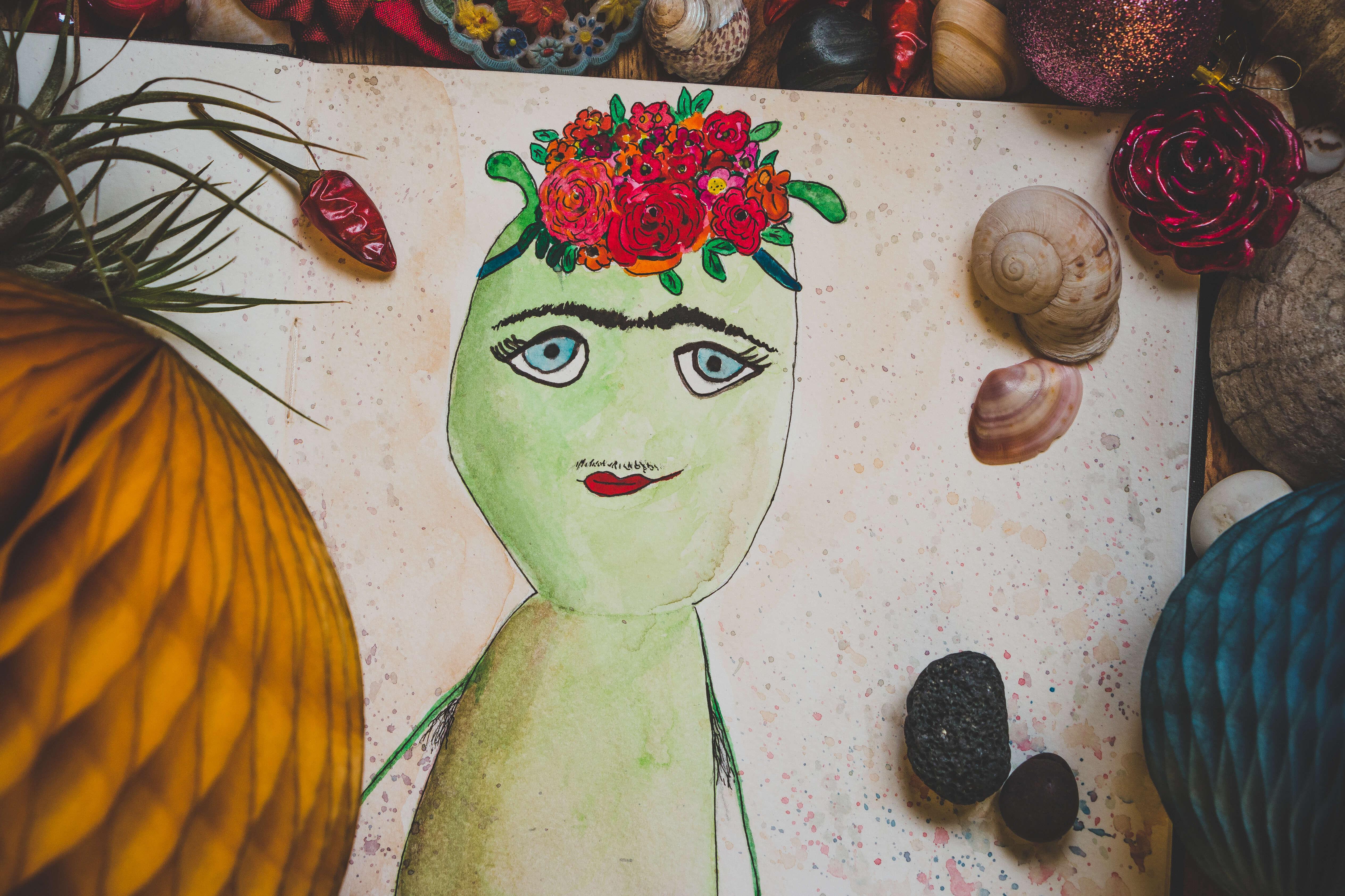 WESENsART – Chakka alias Frida Kahlo