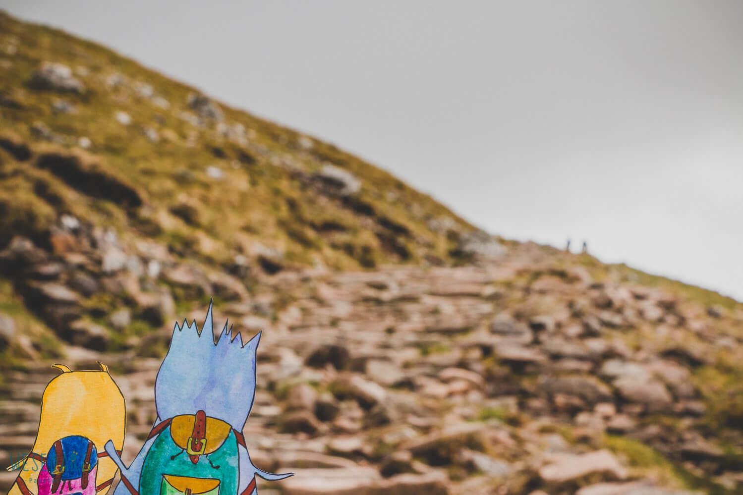 WESENsART – wenn Wesen reisen, dieses Mal Schottland, Wanderung zum Ben Nevis, ein Reise-Abenteuer