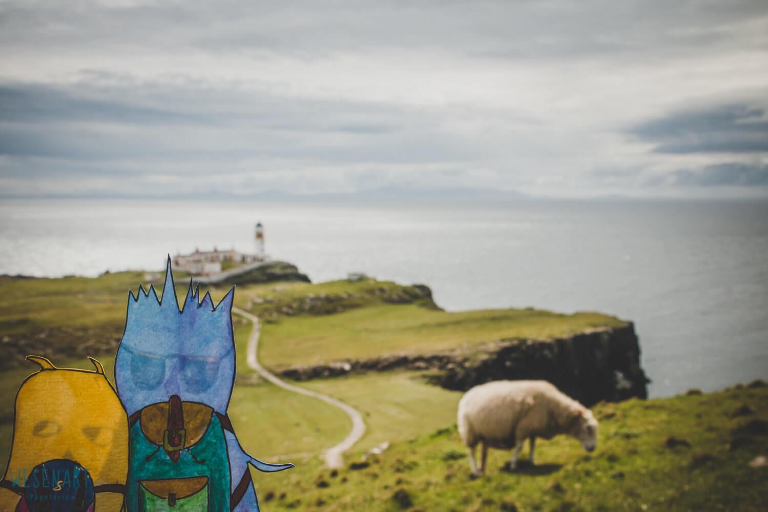 WESENsART – wenn Wesen reisen, dieses Mal Schottland – Insel Skye, ein Reise-Abenteuer