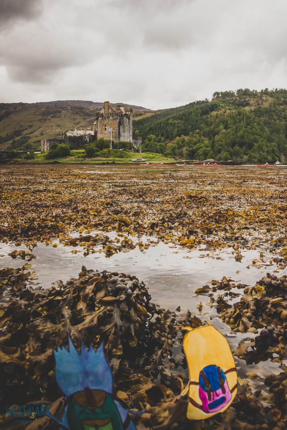 WESENsART – wenn Wesen reisen, dieses Mal Schottland, Eilean Donan Castle