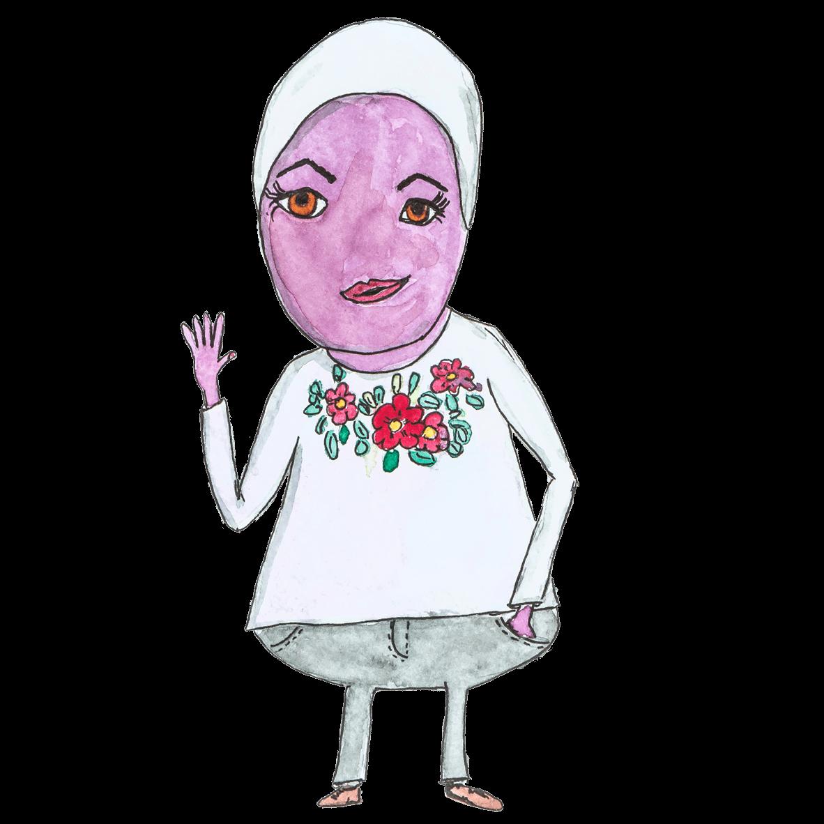 WESENsART – Reem Alrahmoun als Wesen