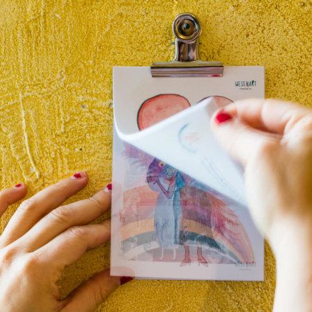 Postkarten-Advents-Kalender