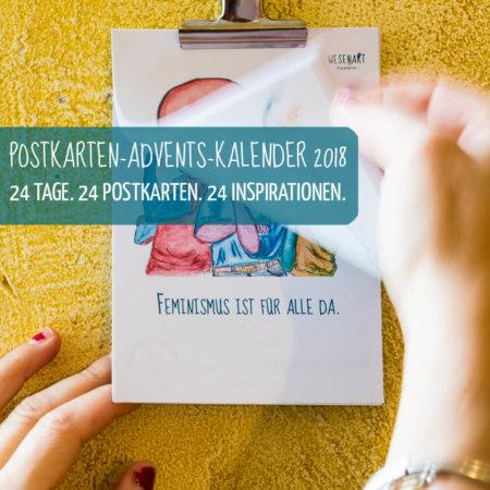 Postkarten-Advents-Kalender 2018