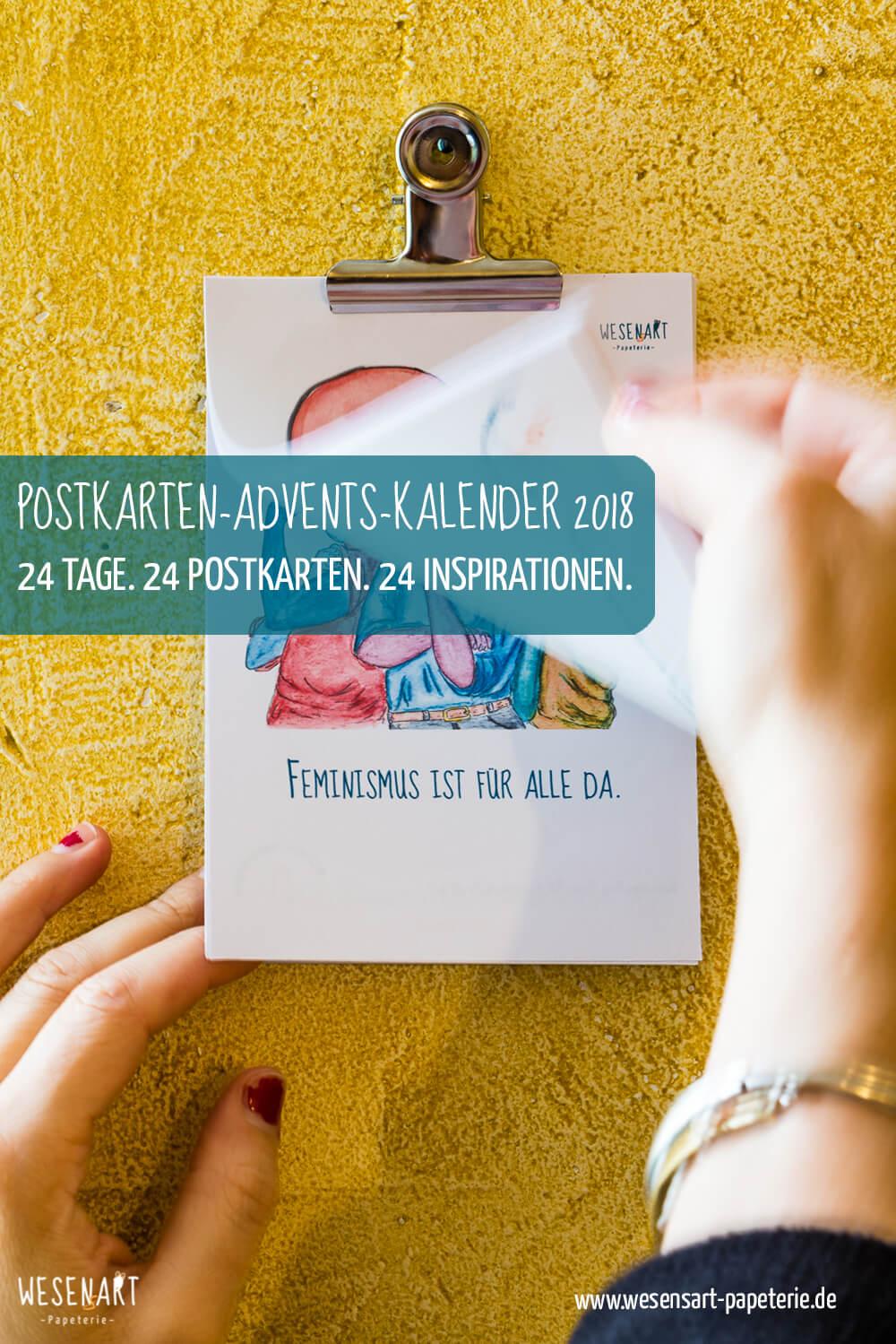 Kennenlernen mit postkarten