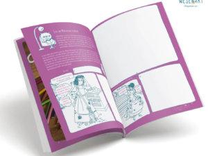 Blick ins Buch: Die Leser*innen können im Comic-Stil Märchen neu erzählen.